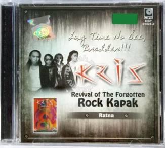 CD Kris Revival Of The Forgotten Rock Kapak Ratna
