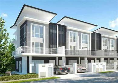 Completed NEW Semenyih 3 storey Terrace [0% D/Payment] ZERO Cost