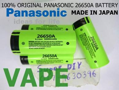 ORIGINAL japan panasonic 26650A li-ion battery