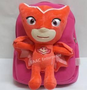PJ Masks Red Owlette Backpack Kindergarten Bag
