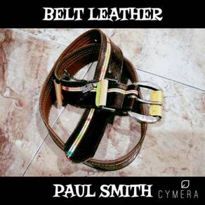 Belt Leather/Vernish Paul Smith