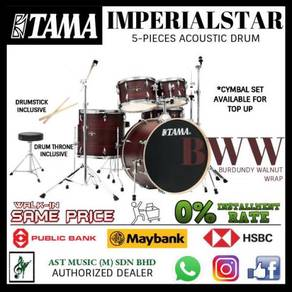 Tama Imperial Star Acoustic Drum BWW