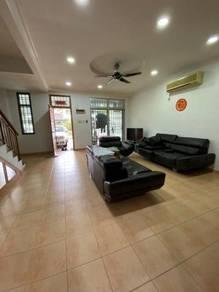 TAMAN SETIA INDAH, Double Storey House, Kitchen Fully Extend