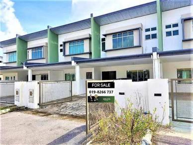 New Double Storey Terrace House Batu 15 Taman Sinaran Heights Siburan