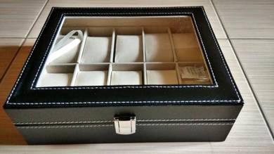 Watch Box 10-slot PU Leather