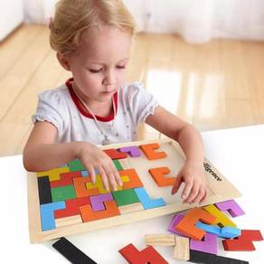 Puzzle tetris for kids and adults
