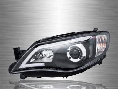 Impreza WRX Projector LED Light Bar Head Lamp 08~1
