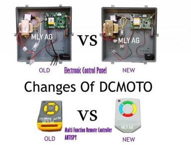 DCMOTO Hybrid Power Gfm925w Series Auto Gate