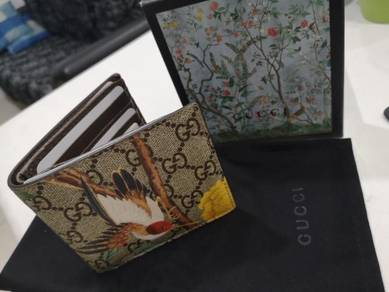 Gucci Supreme TIAN Bird Flower Wallet 906GK6