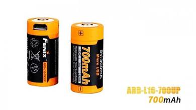 Fenix 16340 RCR123 Li-ion USB Rechargeable Battery