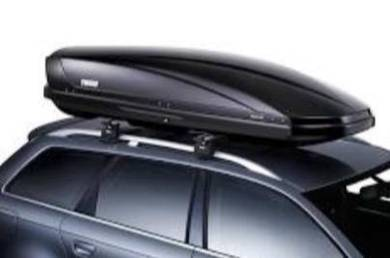 Roof Cargo Box Carrier & roof rack cross bars