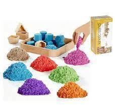Kinetics Sand(1kg) Colourful Play & Learn