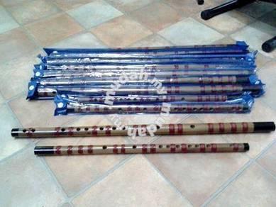 Bamboo Flute (Sarung Biru)