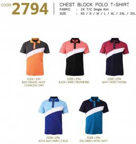 Baju Tshirt Polo Kolar TC Cotton 2794
