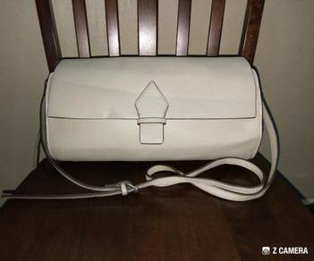 Shoulder Bag Leather ZARA Basic Collection