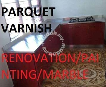 Marble Parquet polish Painting (Painting)