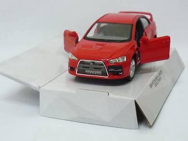 Mitsubishi Lancer Evo X 1/28 model car - RED