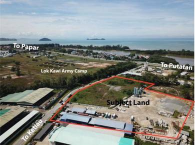 6.67 acres CL Lok Kawi Industrial Land Next to Army Camp