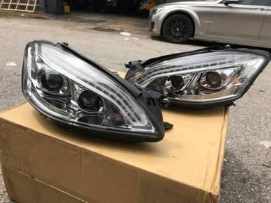 Mercedes W221 Convert Facelift Head Lamp Light