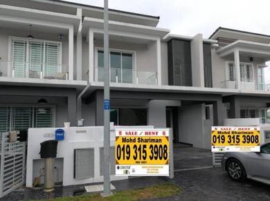 [Facing Open] Superlink Double Storey Terrace , Setia Alam, Freehold