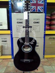 Techno Black Acoustic Guitar - T3000