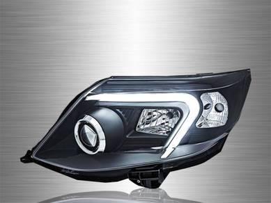 Fortuner Projector LED Light Bar Head Lamp 11~15
