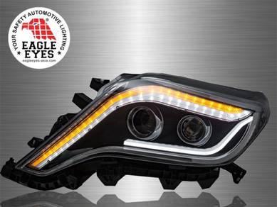 Prado FJ150 Projector LED Light Bar Head Lamp 14~1