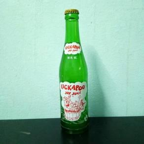 Pcol 60an Kickapoo Old Bottle Botol Label Putih