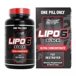 Nutrex Lipo 6 Black Ultra concentrate BAKAR LEMAK