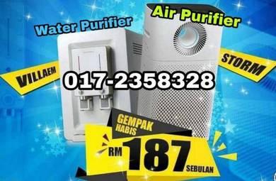 Penapis air dan udara VillaStorm limited edition 8