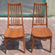 Kerusi Solid Wood Dining Chair x 1 pair * L30 AC