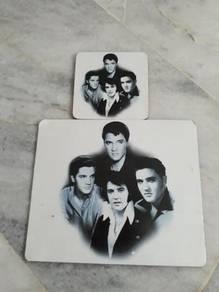 Elvis Mouse Pad & Coaster