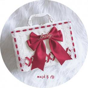 Lolita white red handbag bag RBHB039