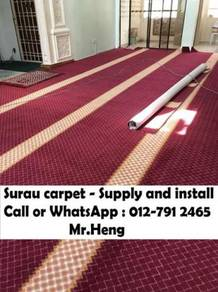 Mosque And Surau Carpet Supplier From Fact. 101CT