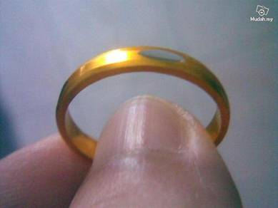 ABRGM-E002S Eye Cut Style Gold Metal Ring Sizes