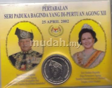Coin Card set DYMM Agong