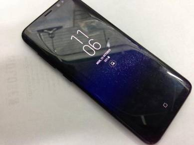 Samsung S8 64gb jetblack fullset