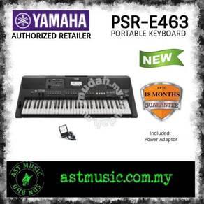 Yamaha PSR-E463 e463 61 Keys Standard Keyboard
