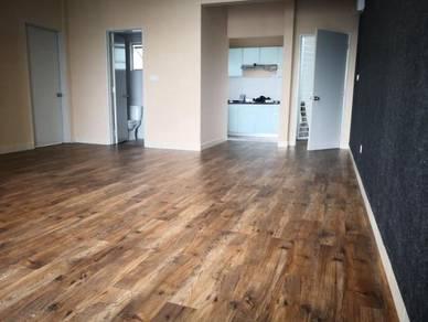 Vinyl Floor Lantai Timber Laminate PVC Floor M425