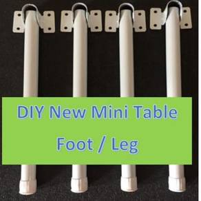 New 4 Piece DIY Mini Table Foot / Leg White