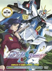 Dvd anime mobile suit gundam seed destiny 1-50