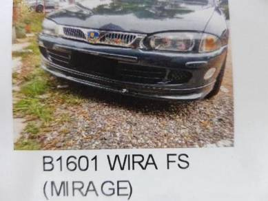 Proton wira mirage front skirt fibre material