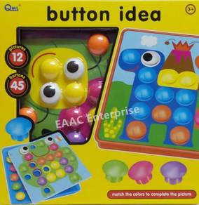 Button Idea - Kids Early Learning Fun toys