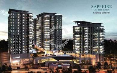 Sapphire on the park apartment at batu lintang for sale