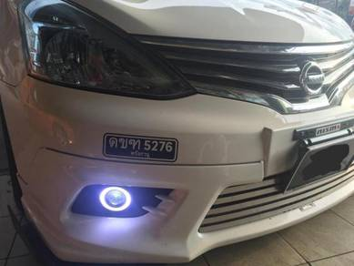Nissan grand livina oem fog lamp with daylight