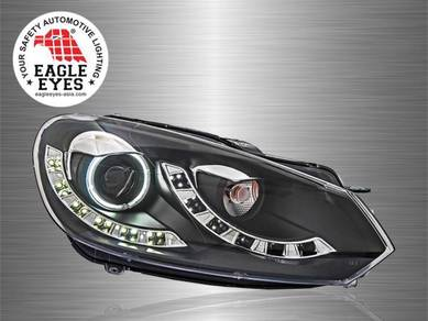 Golf 6 Projector LED Starline Cool Look Head Lamp