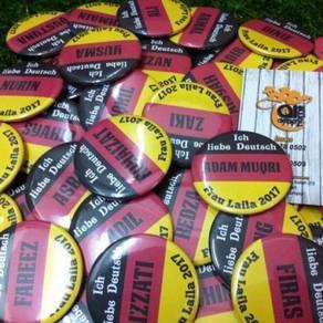 Pin Button Badge- DESIGN - NAMA PELAJAR