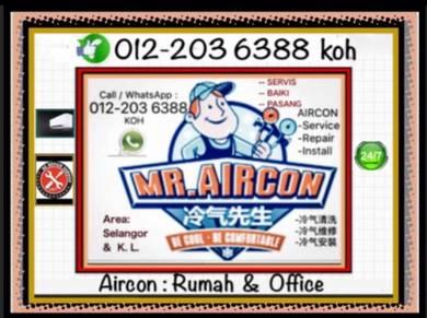 Servicing Aircond pro Air con / AIR COND