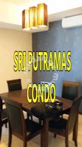 Sri Putramas [ T ] FULLY + 4 NEW AC + 2 NEW HEATER + POOL VIEW