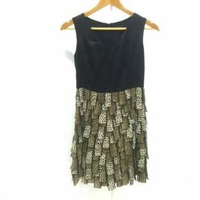 Bcbg Animal Fur Printed Dress